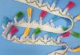 Популярный край шнурка Tassel для этнической одежды