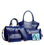 2016 جديدة تجميع مصمّم [6بكس] في 1 كبيرة مخزون حقيبة يد يثبت