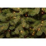 7.5フィートの前Litの2000の枝先端および1200の明るい光(MY100.092.00)が付いている壮大なクレヨンのトウヒの人工的な木