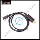 Câble de programmation d'USB pour la radio bi-directionnelle de Kenwood