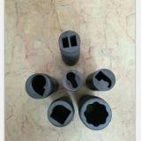 Moldes del grafito para los detalles de cobre del bastidor