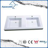 بيضاء لون وحيد قصيدة مربع اصطناعيّة حجارة أحواض