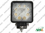 ATV SUV Truck Excavator Forklift Pencil Beam Light를 위한 Road Light 떨어져 24W 3W*8PCS LED Work