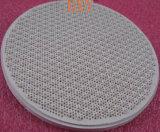 Placa cerâmica do Cordierite do favo de mel da placa do queimador do favo de mel infravermelho