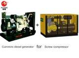 Générateur diesel de Cummins pour le compresseur 200kw 25kVA 6ltaa8.9-G2 de vis