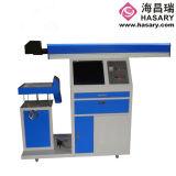 O marcador do laser do CO2/máquina da marcação para o pano calç a matéria têxtil