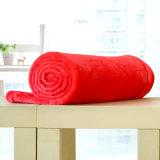 Cobertor contínuo pequeno da flanela do cobertor do poliéster (SR-B170316-39)