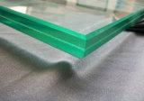 Qualitäts-Oberlicht ausgeglichenes lamelliertes Glas für Zaun-Schiene