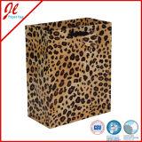 Bolso de compras de papel con el bolso cortado con tintas de la manija/del regalo