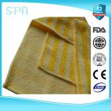 A embalagem transparente do Polybag ostenta a toalha de limpeza de Microfiber