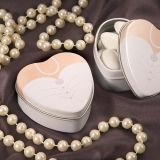 Коробки олова формы сердца