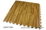 Esteira de madeira Eco-Friendly do assoalho da grão de EVA que bloqueia a esteira antiderrapante