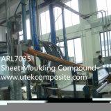 Folha Ral7035 que molda SMC composto para o tanque de água
