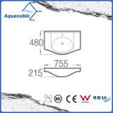 Halb-Vertiefte Badezimmer-keramische Schrank-Bassin-Handwaschende Wanne (ACB24375)