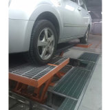 Auto spray Booth com elevador carro dentro