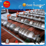 Machine de fabrication de carreaux en tôle de toit en acier de haute qualité