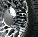Empuje plástico del tubo del cromo en la cubierta de la tuerca para semi los carros pesados comerciales