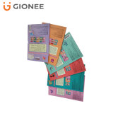 Cadre de empaquetage d'impression de couleur faite sur commande de carton avec le guichet