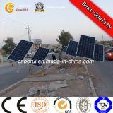 Fabbrica solare galvanizzata del palo chiaro della via