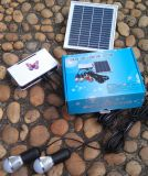 sistema ligero solar de los kits de la iluminación de 4PCS 1W LED para los cuartos caseros