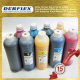 4 tinta solvente de la flora de la tinta de impresión de Cmyk Digitaces del color para la cabeza de impresora de la estrella polar de los espectros