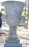 Tallado de piedra del jardín Tiesto