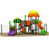 Buntes Outdoor Playground Equipment, Children Amusement Park Toys für Sale