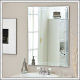 /浴室のための銀製ミラー/装飾的着服