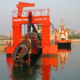 14 Zoll-hydraulischer Scherblock-Absaugung-Bagger für Fluss-Sand