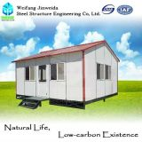 Casa móvel pré-fabricada para a vida da família