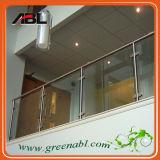 Trilhos de vidro da plataforma interna do aço inoxidável (DD002)