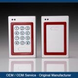 Sistema di controllo fuori linea di accesso della tastiera RFID del metallo IP65 con il software multilingue di offerta del lettore di MIFARE