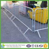 Barriera pedonale provvisoria galvanizzata/barriera controllo di folla