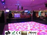 Panel-Tanzen-Tanz-Sprachsteuerstadiums-Licht-Partei-Disco DJ des DMX RGB Tanzboden-1*1m schlagen LED-Effekt mit einer Keule