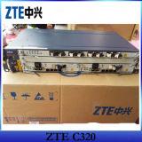 (ZTE C320) AC/DC 힘을%s 가진 Gpon Epon 소형 Olt