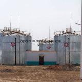 O uso da indústria aparafusou o tanque de aço pressionado esmaltado
