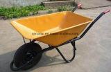 Carriola pneumatica della rotella di Struction della costruzione di buona qualità (Wb6401)