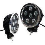7inch 60Wのクリー族LEDs自動働くランプLED作業ライト