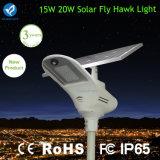 Luz de calle solar de aluminio de fundición a presión a troquel IP65 con vida útil larga