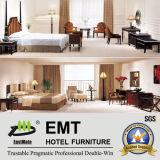 Conjunto de dormitorio de madera de los muebles del dormitorio del hotel (EMT-A6003)