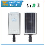 Iluminação solar para a lâmpada do diodo emissor de luz 12W com bateria de Li (HFK5-12)