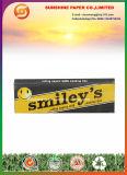 Papier de roulement souriant avec des extrémités de filtre