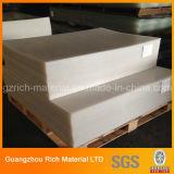 不透明で白いプラスチックアクリルシートまたは風防ガラスPMMAのプラスチックボード