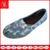 Chaussures de confort de toile de Slip-on de femmes de mode