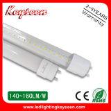 tubi di 110lm/W T8 1.2m 20W LED, garanzia 5years