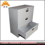 Forniture di ufficio moderne 3 casellari laterali d'acciaio del cassetto con l'amo d'attaccatura dell'archivio