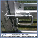 Сверхмощный скотный двор оборудования поголовья горячего DIP гальванизированный обшивает панелями и стробирует панели