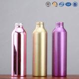Alta calidad de lujo 15ml 30ml, 50ml, 100ml, botella de aluminio cosmética de la loción del aerosol del metal 150ml