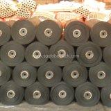 Frontière de sécurité de vase de fil de jardin de tissu de pp tissée par noir