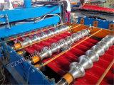 Il nuovo colore ha lustrato il rullo delle mattonelle che forma il fornitore della macchina